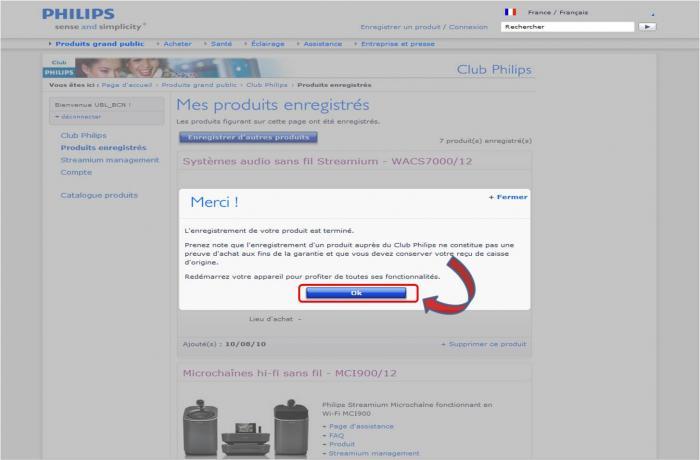 Philips Streamium MCI73012 User Manual